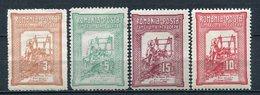 Rumänien Nr.165/8       *  Unused       (801) - 1881-1918: Charles Ier