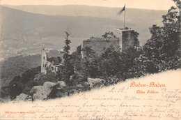 BADEN BADEN ~ALTES SCHLOSS-1900 BRIICK & SOHN #160 PUBLISHED PHOTO POSTCARD 39733 - Baden-Baden