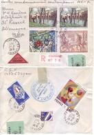 Francia - Storia Postale, Raccomandata Assicurata. Affrancata E Viaggiata - Francia