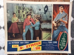 AFFICHE CINEMA  The In-Between Âge  LEE PATTERSON  MARY STEELE  USA  1958 - Affiches & Posters