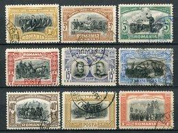 Rumänien Nr.187/95       O  Unused       (804) - 1881-1918: Charles Ier
