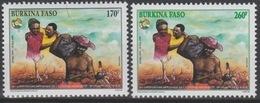 Burkina Faso 1999 Mi. 1621 - 1622 40 Ans Conseil De L'Entente Joint Issue émission Commune Conjointe 2 Val. ** - Emissions Communes