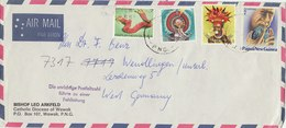 PAPUA NEW GUINEA Year? Cover To GERMANY.BARGAIN.!! - Papouasie-Nouvelle-Guinée