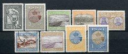 Rumänien Nr.227/35       *  Unused       (809) - 1881-1918: Charles Ier