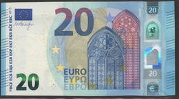 EURO 20  ITALIA SA S021 I6  LAST POSITION  UNC - 20 Euro