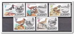 Alderney 1984, FDC, Birds - Alderney