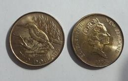 New Zealand - 2 Dollars Comm. 1993 AUNC / XF Lemberg-Zp - Nouvelle-Zélande