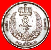 # GREAT BRITAIN: KINGDOM LIBYA ★ 5 MILLIEMES 1952!  LOW START ★  NO RESERVE! Idris I (1951-1969) - Libya