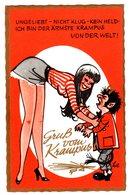 Ansichtskarte Mit Krampus, Teufel, Diable - Europe