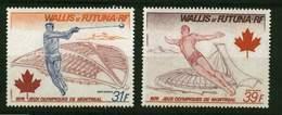 Wallis Et Futuna **  Pa 72/73 -  J.O De Montréal - Ungebraucht
