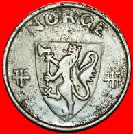 # GERMANY (1941-1945): NORWAY ★ 5 ORE 1943! LOW START ★  NO RESERVE! Haakon VII (1905-1957) - Norvège