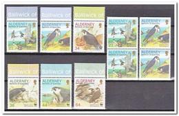 Alderney 2000, Postfris MNH, Birds Complete - Alderney