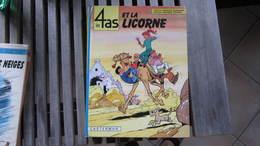 LES 4 AS ET LA LICORNE                  CRAENHALS - 4 As, Les