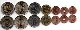Philippines - Set 7 Coins 1 5 10 25 Sentimo 1 5 10 Piso 1993 - 2011 UNC Lemberg-Zp - Philippines