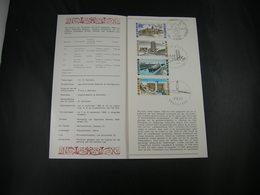 """BELG.1968 1466/1469 FDC/Folder NL  : """" Intérêt National / Nationaal Belang  """" - 1961-70"""