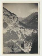 Kleines Privat Foto Blick Auf Altfinstermünz Vom Pass Nach Nauders 1920er Jahre - Orte