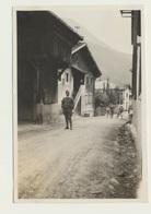 Kleines Privat Foto Straßenpartie Pettneu 1927 - Orte