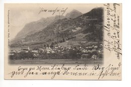 Gruss Aus MALANS Gel. 1902 N. Celerina - GR Grisons