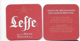 SOUS BOCK / 35  - LEFFE D'HIVER - Sous-bocks