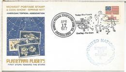 ESTADOS UNIDOS USA CHICAGO 1977 ESPACIO SPACE ASTROLOGIA CONSTELACION CENTAURO - Astrología