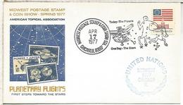 ESTADOS UNIDOS USA CHICAGO 1977 ESPACIO SPACE ASTROLOGIA CONSTELACION CENTAURO - Astrologia