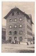 SCHULS Nota Gasthaus Restaurant Bahnhof Animée Verlag Graph Union Chur - GR Grisons