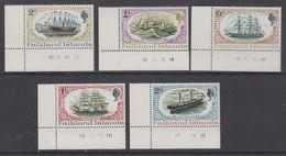 Falkland Islands 1970 SS Great Britain 5v (corners)  ** Mnh (42241) - Falklandeilanden