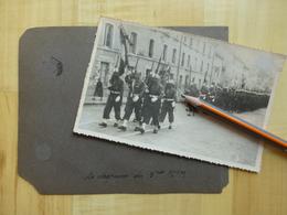 05 BRIANCON - MONTGENEVRE - MILITAIRE DU 5° RTM 1939 - LA COCHETTE DEFILE ETC ... 15 PHOTOS MILITARIA - MAROCAINS - Briancon