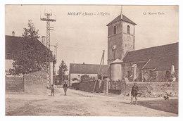 MOLAY  L' Eglise - Frankrijk