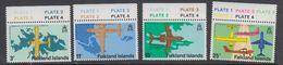 Falkland Islands 1979 Opening Stanley Airport 4v (+margin) ** Mnh (42242A) - Falklandeilanden