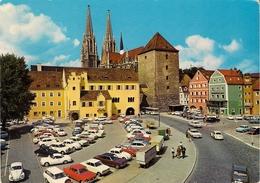 CP Voiture 2275 Regensburg-VW Karmann Ghia,VW Cox,Cocinell,Käfer,Kever Cabriolet,Mercedes,autre Voitures - Passenger Cars