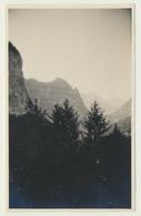 Kleines Privat Foto Blick Von Hotel Hochfinstermünz Auf Schlucht 1920er - Orte
