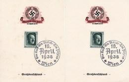 Drei Belege Zum Eintritt Österreichs Ins Dritte Reich 1938 - Non Classés