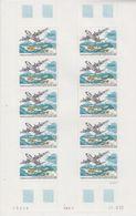 Taaf 1993 Inauguration De La Piste De Terre Adelie 1v Sheetlet (unfolded)  ** Mnh (TA201) - Franse Zuidelijke En Antarctische Gebieden (TAAF)