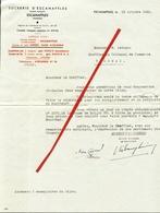 Escanaffles. Sucrerie D'Escanaffles. 1943. **** - Autres Collections