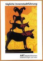 Les Animaux Musiciens De Breme (coq, Chat, Chien, âne) Bremen (Allemagne) - Fiabe, Racconti Popolari & Leggende
