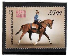 Kyrgyzstan.2013 National Horse Games. 1v: 35.00  Michel # 741 - Kirghizistan