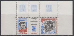 TAAF 1993 Meteo France Strip 2v + Label (corner) ** Mnh (TA202) - Franse Zuidelijke En Antarctische Gebieden (TAAF)