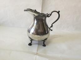 Martin & Hall Victorian Silver Plated English Tea 1929 Bricco Latte Tè Art Decò - Non Classificati