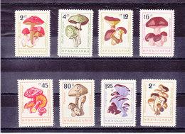 BULGARIE 1961 CHAMPIGNONS Yvert 1099-1106 NEUF** MNH - Neufs