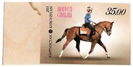 Kyrgyzstan.2013 National Horse Games. Imperf 1v: 35.00 Michel # 741b - Kirghizistan