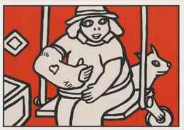 Cpm ERGON - L'enfant Au Plâtre - Balançoire - Illustrateur - Illustrateurs - Ergon