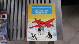 EO JO ZETTE ET JOCKO DESTINATION NEW YORK  HERGE - Jo, Zette & Jocko