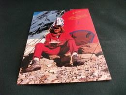 Reinhold Messner (Bressanone, 17 9 1944) è Un Alpinista, Esploratore E Scrittore Italiano Tenda Dei 14 8000 FERRINO FILA - Personalità Sportive