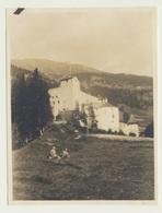 Kleines Privat Foto  Nauders Wiese Rast Schloss - Orte