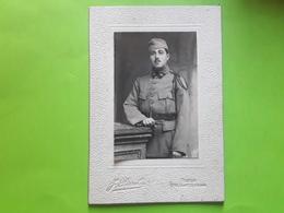 Photo Originale Soldat Militaire Du 22 E Regiment ? J PERROT Photographe 214 Faubourg St Antoine Paris Vers 1914 , TB - Guerra, Militari