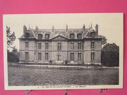 Visuel Pas Très Courant - 76 - La Neuville Champ D'Oisel - Un Château - Scans Recto-verso - Autres Communes
