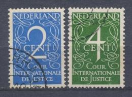 Nederland/Netherlands/Pays Bas/Niederlande/Paesi Bassi 1950 Mi: DM25-26 Yt: TS24-25 Nvph: D25-26 (Gebr/used/obl/o)(4317) - Dienstzegels