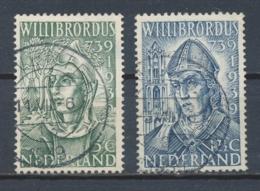 Nederland/Netherlands/Pays Bas/Niederlande/Paesi Bassi 1939 Mi: 332-333 Yt: 323-324 Nvph: 323-324 (Gebr/used/obl/o)(4327 - Periode 1891-1948 (Wilhelmina)