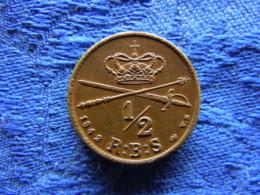 DENMARK 1/2 SKILLING 1842, KM725 Cleaned - Danemark
